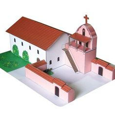 Have a California Mission project due? These models are perfect for that 4th grade Mission project! All models can be purchased for immediate download and printed on your standard home or office…