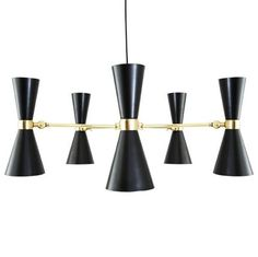 Show details for Cairo 5 Arm Contemporary Chandelier