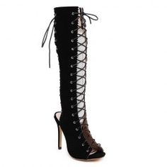 SHARE & Get it FREE | Fashion Hollow Out and Lace-Up Design Women's Mid-Calf BootsFor Fashion Lovers only:80,000+ Items • FREE SHIPPING Join Nastydress: Get YOUR $50 NOW!