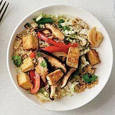 Asian Stir-Fry Quinoa Bowl   MyRecipes.com