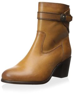 FRYE Women's Malorie Button Short Ankle Boot * See this great image  : Boots