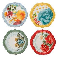 The Pioneer Woman Flea Market Coasters, Set of 4 Image 2 of 6
