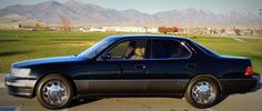 1994 Lexus LS400 Back in the late 1980's Toyota invested over 1 Billion dollars to develop this car. This model is one that changed history of auto making.