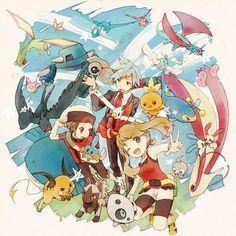 gourgeist:Heroes of Hoenn Pokemon Rosa, Pokemon Manga, Pokemon Comics, All Pokemon, Pokemon Fan Art, Cute Pokemon, Pokemon Store, Pokemon Team, Pokemon People