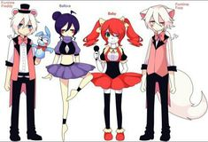 Anyone wanna do a Sister Location RP? I'll be Baby and Funtime Foxy. I know FNaF is already dead, but I still love it, so hopefully I'm not the only one. Fnaf 5, Anime Fnaf, Kawaii Anime, Five Nights At Freddy's, Animatronic Fnaf, Sister Location Baby, Neko, Fnaf Baby, Pole Bear