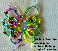 by Feliciana Balestra, posted on FB tatting group