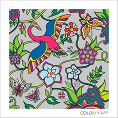 My first Colorfy art #colorfy #coloringbook #coloringapp