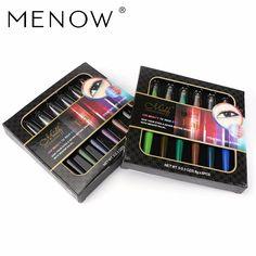 M. menow n marki wodoodporny i pot nie jest kwitnący eyeliner profesjonalne eye pencil makijaż kosmetyki e11004