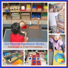 in this post, I will tell you what are my favorite Montessori books, materials and free printables.
