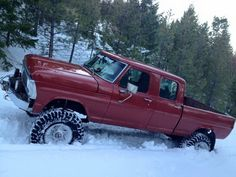Old Ford with 7.3 Power Stroke