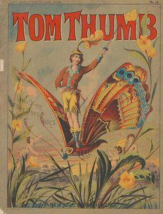 Tom Thumb, 1881. (book cover)