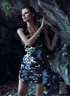 "Lilogi.com - inspiration image, ""under the sea"" week, fashion, editorial #sequins, #water, #photography, #fashion, #ocean"