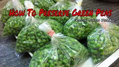 How To Blanch Freeze & Preserve Green Peas Recipe In Hindi | How To Store Green Peas For Long