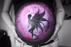 Bellypaint fairy fantasy