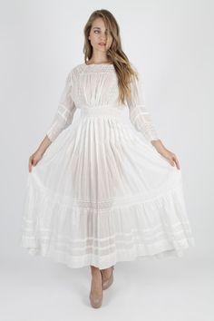Edwardian wedding dress from Etsy.