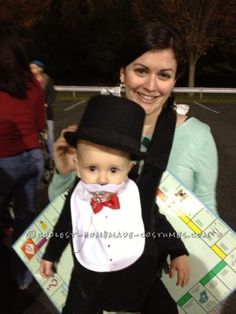 coolest baby halloween costume rich uncle pennybags from monopoly