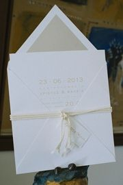μοντερνα προσκλητηρια γαμου Wedding Cards, Wedding Invitations, Container, Weddings, Decoration, Books, Inspiration, Wedding Ecards, Decor