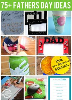 {Amazing} Fathers Day Ideas from Kids Activities - Rhyan Finch Team Father's Day Activities, Holiday Activities, Holiday Crafts, Holiday Fun, Activity Days, Toddler Activities, Holiday Ideas, Fathers Day Crafts, Happy Fathers Day