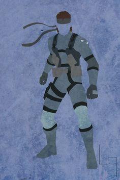 Solid Snake artwork