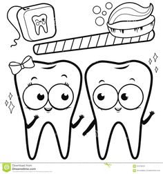 Dentist coloring page dental pages for toddlers kindergarten heal on health coloring pages healthy food colori Coloring Pages Winter, Unique Coloring Pages, Coloring Pages For Kids, Coloring Sheets, Teeth Images, Telling Time, Cartoon, Tooth, Coloring Worksheets