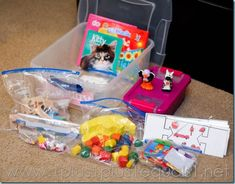 What's In The Preschool Box ~ Quiet Time Boxes