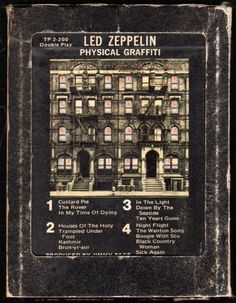 My most favorite Led Zeppelin of all! Physical Graffiti.  It was actually my very first album too!