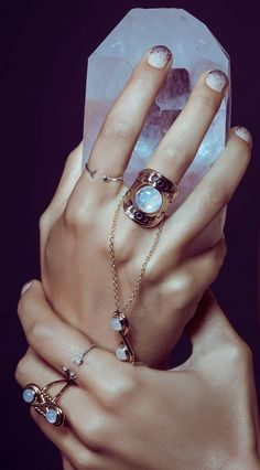 LIMITED WANTED STYLE - Moonstone Ring // buy here