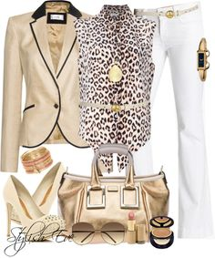 """Untitled #216"" by stylisheve on Polyvore. Spring look when #PushingForward in life at work..."