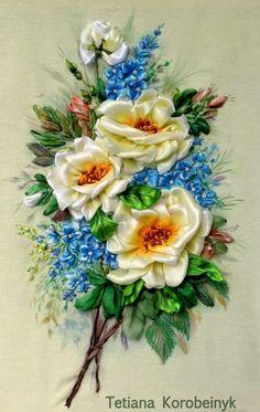 .ribbon flowers