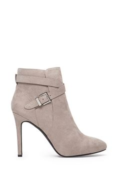 Buckled Ankle Strap Booties | Forever21 - 2000057019