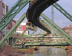 "Wuppertal Schwebebahn - I have no idea what that means or where this is, I just know that I want to ride any strange European public transportation with ""wuppertal"" in the name.  It just *sounds* fun."