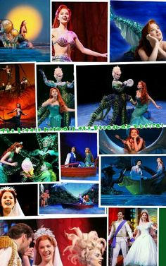 The Little Mermaid on Broadway with my sweet Claire in July of 2007