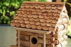 casinha de rolhas (Custom) | Reciclagem no Meio Ambiente