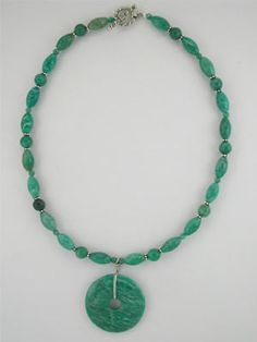 russian amazonite chunky necklace - Google Search