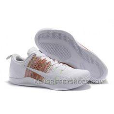 "bdc910a39861 Nike Kobe 11 Elite ""4KB"" White Horse Multicolor 2016"