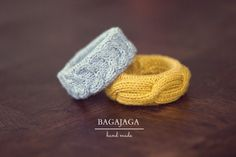 wool, yellow, grey, jewelry, bracelet, knitted