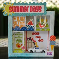 LOVE! Using the Hot Wheel is fab! Echo park - #scrapbooking #crafts #diy