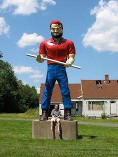 Muffler Man -  Cheshire, Connecticut