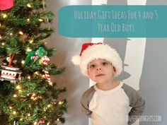 Holiday Gift Ideas for 4 to 5 Year Old Boys- idea for Gabe