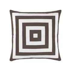 """Ralph Lauren Kirin Stripe Decorative Pillow, 22"""" x 22"""""""