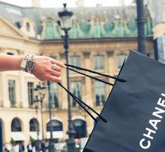 BRB, gone shopping. www.thecoveteur.com/chanel_premiere_watch #CHANEL