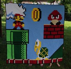 Do you like to make quilts? Know a geek? this is for you, then.