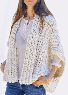 Instructions to Make: the Montreal Crochet Vest by karenclements