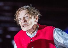 Glenda Jackson as King Lear by William Shakespeare, Old Vic Theatre, London, October 2016