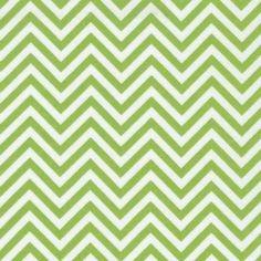 1/2 YARD Remix Lime Green Zigzag Chevron Fabric by Robert Kaufman