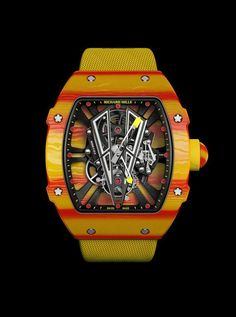 223552933c5 Richard Mille RM 27-03 Rafael Nadal - the distinctive yellow-and-red