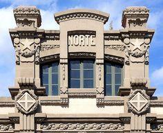 Barcelona - Estació del Nord - Architect: Demetri Ribes i Marco
