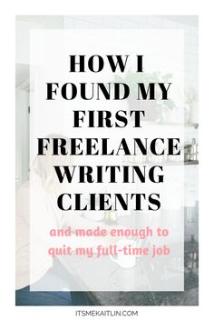 Two years later, I only work three days a week and make more than I did working full-time. Make Money Blogging, Make Money Online, Business Tips, Online Business, Freelance Writing Jobs, Entrepreneur Inspiration, Work From Home Moms, Three Days, Copywriting