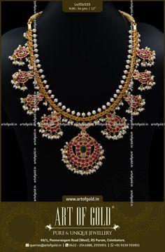 Gold Guttapusalu Haram in Antique Finish. Indian Wedding Jewelry, Wedding Jewelry Sets, Indian Jewelry, Gold Bangles, Gold Jewelry, Unique Jewelry, Guttapusalu Haram, Antique Necklace, Gold Necklace