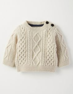 Cosy Cable Jumper 71544 Knitted Jumpers at Boden